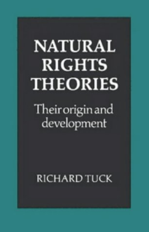 9780521225120: Natural Rights Theories: Their Origin and Development