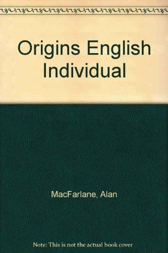 9780521225878: Origins English Individual