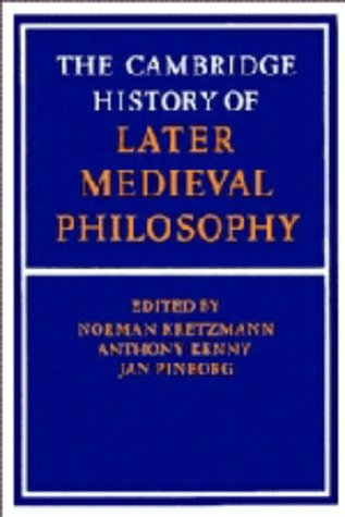 9780521226059: The Cambridge History of Later Medieval Philosophy: From the Rediscovery of Aristotle to the Disintegration of Scholasticism, 1100-1600
