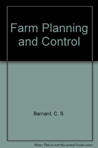 9780521226585: Farm Planning and Control