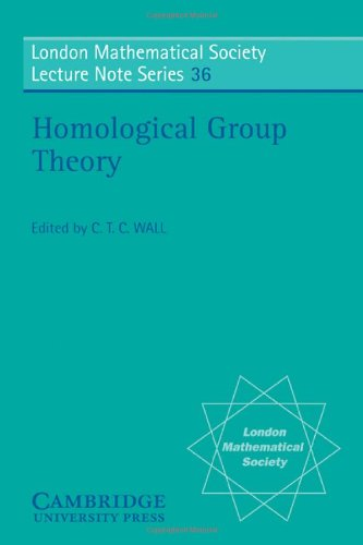 9780521227292: Homological Group Theory (London Mathematical Society Lecture Note Series)