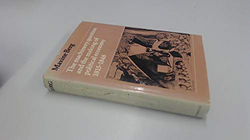9780521227827: The Machinery Question and the Making of Political Economy 1815-1848