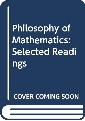 9780521227964: Philosophy of Mathematics: Selected Readings