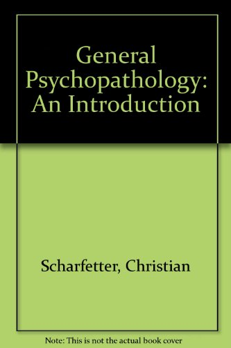 9780521228121: General Psychopathology: An Introduction