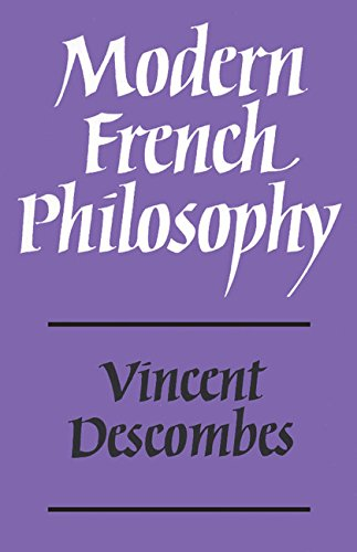 9780521228374: Modern French Philosophy