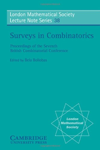 9780521228466: Surveys in Combinatorics (London Mathematical Society Lecture Note Series)