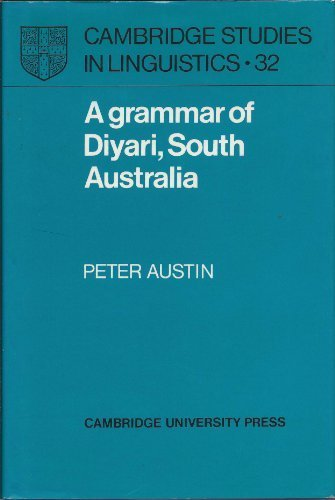 9780521228497: A Grammar of Diyari, South Australia (Cambridge Studies in Linguistics)