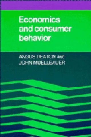9780521228503: Economics and Consumer Behavior