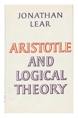 9780521230315: Aristotle and Logical Theory