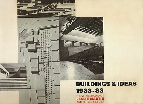 9780521231077: Buildings and Ideas 1933-1983: From the Studio of Leslie Martin and his Associates