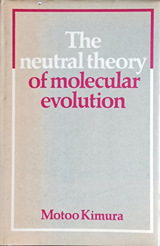 9780521231091: The Neutral Theory of Molecular Evolution