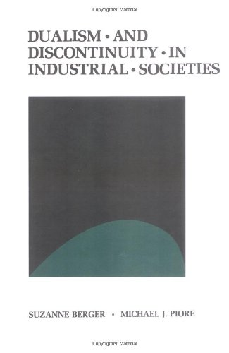 9780521231343: Dualism and Discontinuity in Industrial Societies