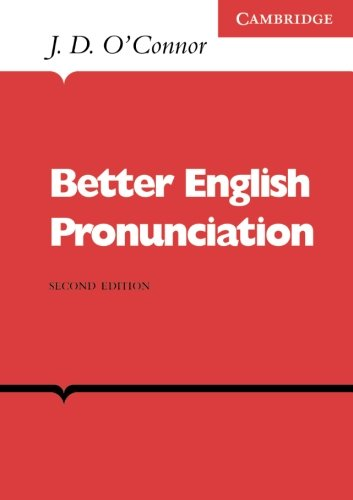 9780521231527: Better English Pronunciation (English Language Learning: Reading Scheme)