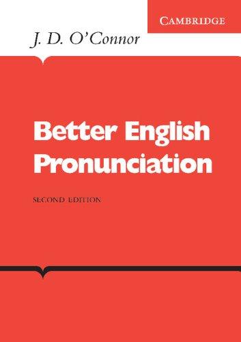 9780521231527: Better English Pronunciation (Cambridge English Language Learning)