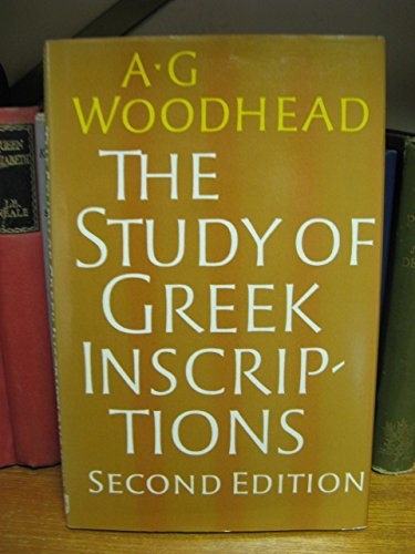 9780521231886: The Study of Greek Inscriptions