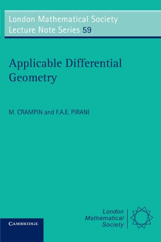 9780521231909: Applicable Differential Geometry (London Mathematical Society Lecture Note Series)