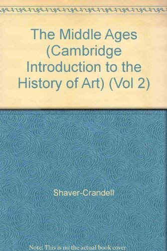 9780521232098: The Middle Ages (Cambridge Introduction to the History of Art) (Vol 2)