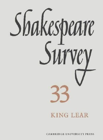 Shakespeare Survey 33: Kenneth Muir