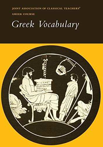 9780521232777: Reading Greek: Greek Vocabulary
