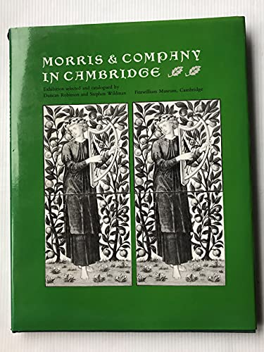 9780521233101: Morris and Company in Cambridge (Fitzwilliam Museum Publications)