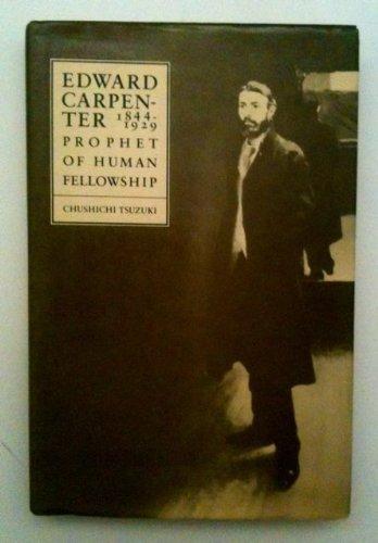 Edward Carpenter, 1844-1929: Tsuzuki, Chushichi