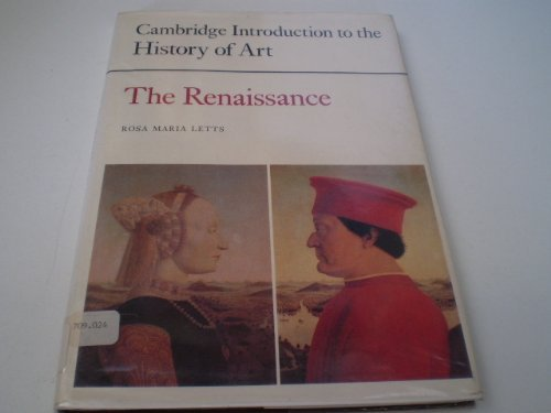 9780521233941: The Renaissance (Cambridge Introduction to the History of Art)