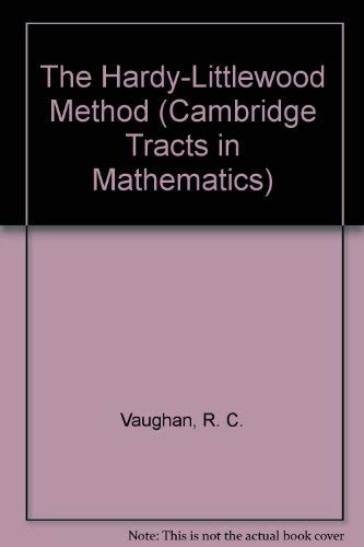 9780521234399: The Hardy-Littlewood Method (Cambridge Tracts in Mathematics)