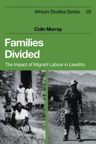 9780521235013: Families Divided: The Impact of Migrant Labour in Lesotho (African Studies)