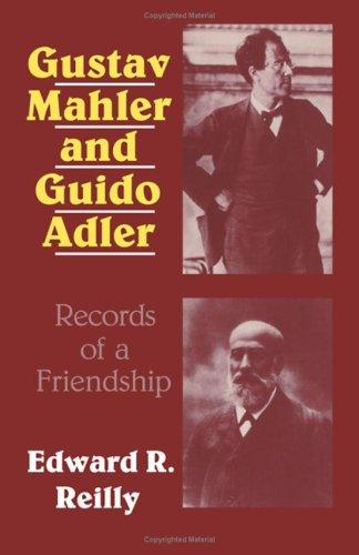9780521235921: Gustav Mahler and Guido Adler: Records of a Friendship
