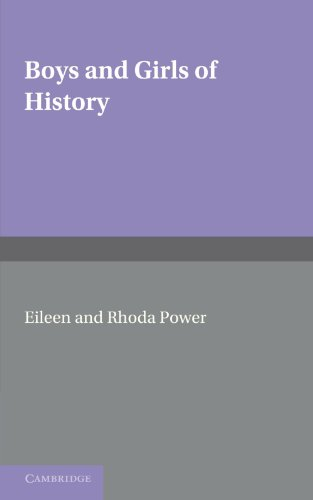 9780521236065: Boys and Girls of History