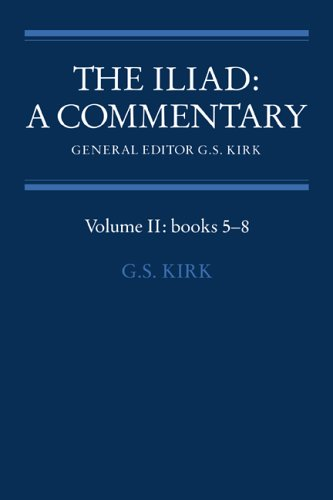 9780521237109: The Iliad: A Commentary: Volume 2, Books 5-8 Hardback: Bks.5-8 v. 2