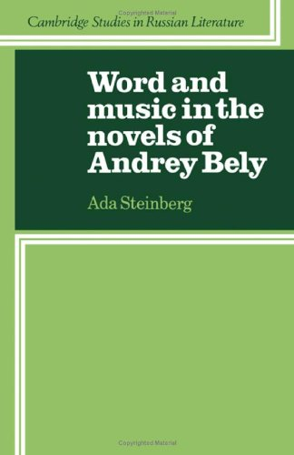 9780521237314: Word and Music in the Novels of Andrey Bely