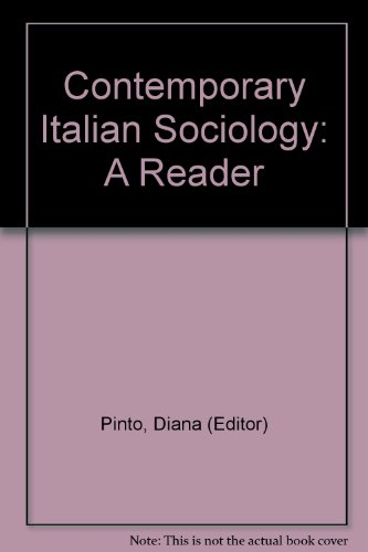 9780521237383: Contemporary Italian Sociology: A Reader