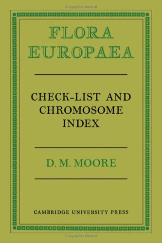 9780521237598: Flora Europaea Check-List and Chromosome Index