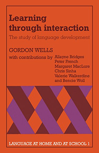 9780521237741: Learning through Interaction: Volume 1: The Study of Language Development (Language at Home and at School)