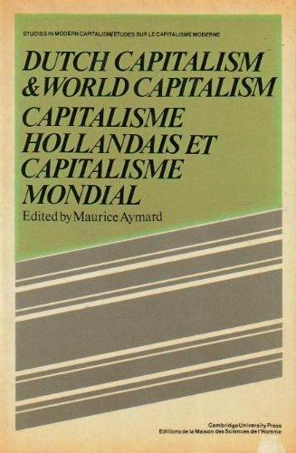 9780521238120: Dutch Capital and World Capitalism: Capitalisme hollondais et capitalisme mondial