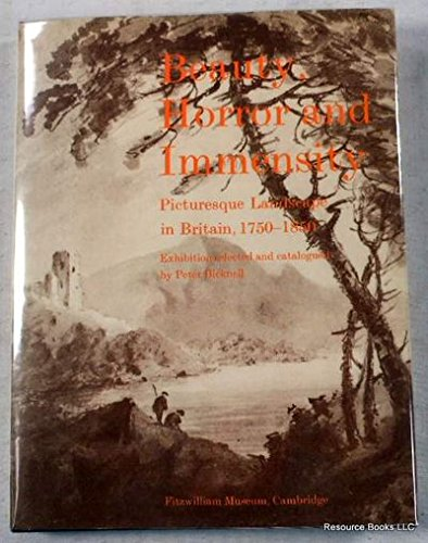 9780521238809: Beauty, Horror and Immensity (Fitzwilliam Museum Publications)