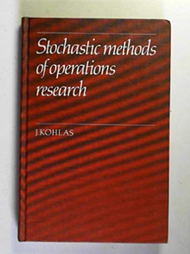 Stochastic Methods of Operations Research