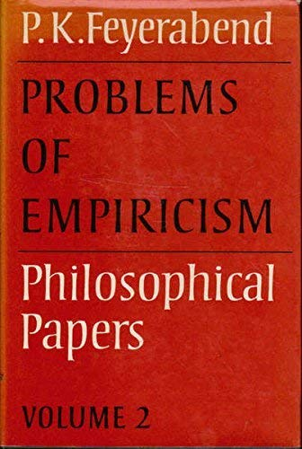 9780521239646: Problems of Empiricism: Volume 2: Philosophical Papers