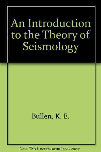 9780521239806: An Introduction to the Theory of Seismology