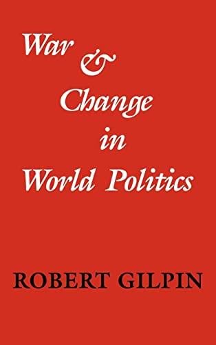 9780521240185: War and Change in World Politics