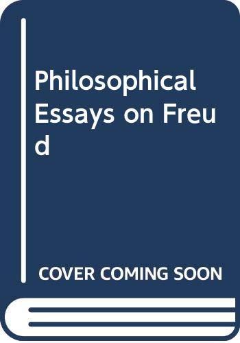 9780521240765: Philosophical Essays on Freud