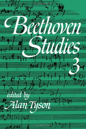 9780521241311: Beethoven Studies 3 (v. 3)