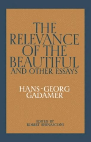 9780521241786: The Relevance of the Beautiful and Other Essays
