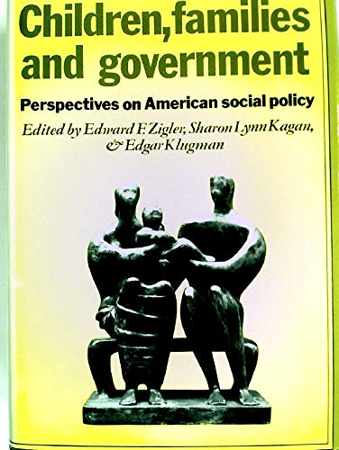 9780521242196: Children, Families, and Government: Perspectives on American Social Policy