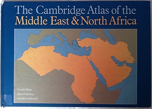 9780521242431: The Cambridge Atlas of the Middle East and North Africa