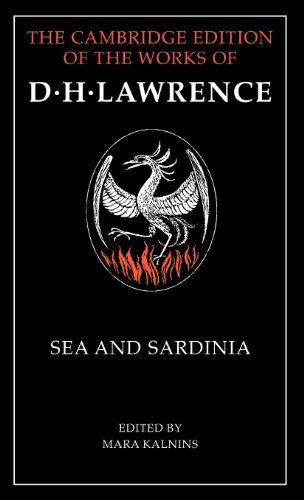 9780521242752: Sea and Sardinia (The Cambridge Edition of the Works of D. H. Lawrence)