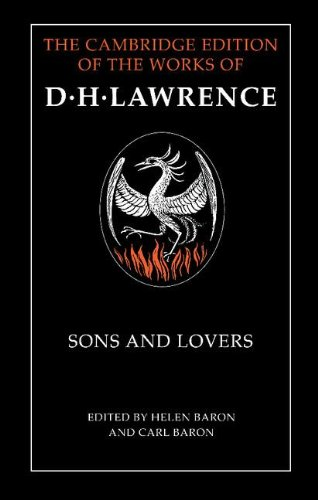 9780521242769: Sons and Lovers (The Cambridge Edition of the Works of D. H. Lawrence)