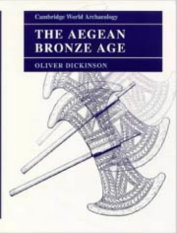 9780521242806: The Aegean Bronze Age (Cambridge World Archaeology)