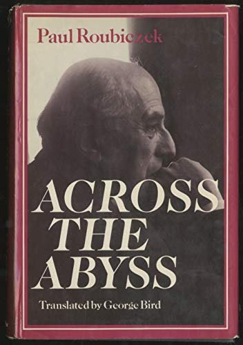 Across the Abyss: Diary Entries for the Year 1939-1940